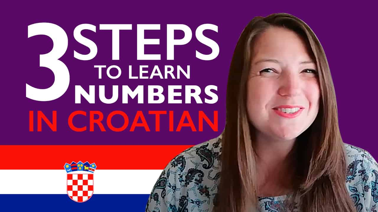 Numbers in Croatian