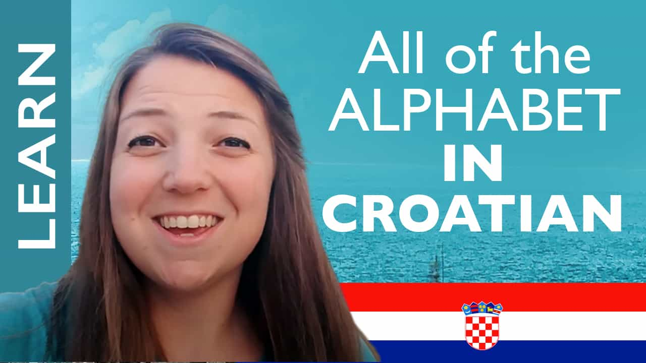 Croatian Alphabet