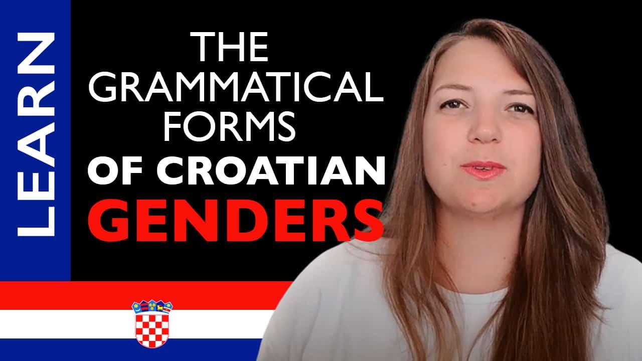 Croatian Genders